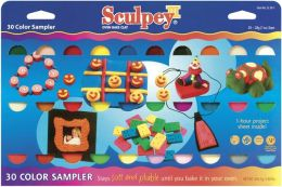 Sculpey III Polymer Clay Color Sampler 1 Ounce 30/Pkg-Assorted Colors