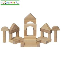 Hardwood Unit Block Set- 34 pieces