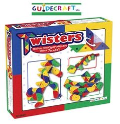 Guidecraft G16869 Twisters 91 Pieces
