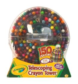 150ct Telescoping Crayon Tower
