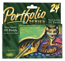 Crayola Portfolio Oil Pastels 24 Assorted Colors