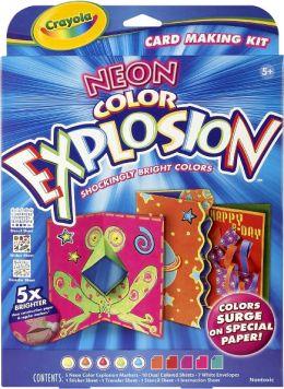 Neon Explosion Card Making Kit