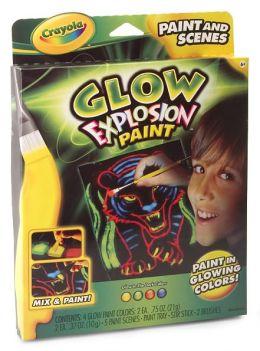 Glow Explosion Paint & Scenes