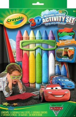 Crayola 3D Cars 2 Activity Set