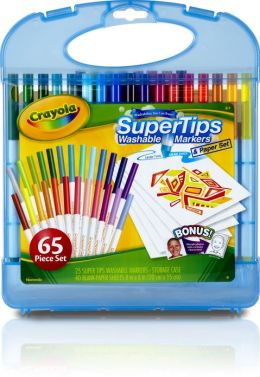 25 Count Washable Super Tips Markers Kit