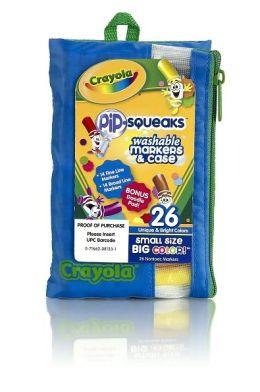 Crayola 26 Count Pip-Squeaks Portfolio