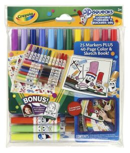 Crayola Pip Squeaks Marker 'N Sticker Set