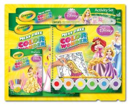 Crayola Color Wonder Disney Princess Glow Within Gift Set