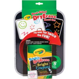 Crayola Dual Sided Dry Erase Board