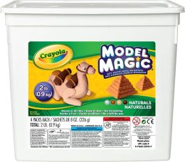 Crayola 2lb Model Magic Bucket Natural Colors