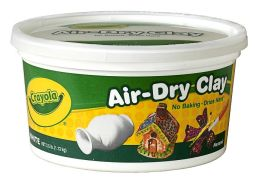 Air Dry Clay 2.5 lb. Bucket - White