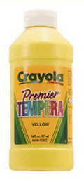 CRAYOLA LLC FORMERLY BINNEY & SMITH BIN311542 TEMPERA PAINT 16 OZ. BLUE