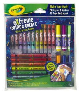 Crayola Extreme Color 'N Create Set