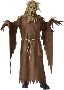 Ghost Face Scarecrow Child Costume: Large (12/14)