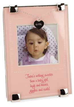 Sweeter Baby Girl Glass Frame 5x3.5