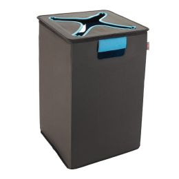 Oxo Tot Flip-In Hamper, Brown/Blue