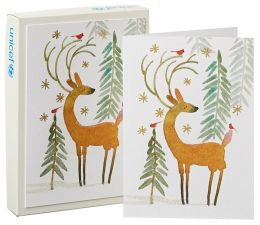 Unicef Deer Christmas Boxed Card
