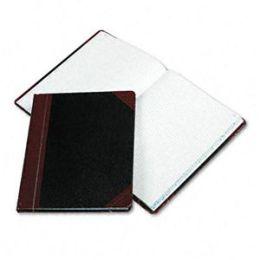 Boorum & Pease 21-150-Q Columnar Book w/Quadrille Rule- Black- 150 Pages- 10 3/8 x 8 1/8
