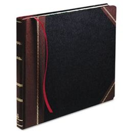 Boorum & Pease 23-300-R Columnar Book- Record Rule- Black Cover- 300 Pages- 14 1/8 x 10 7/8