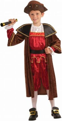 Columbus Child Costume: Small (4-6)
