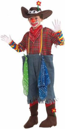 Rodeo Clown Child Costume: Large