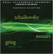 Tchaikovsky: Serenade for Strings; Mozart: Eine kleine Nachtmusik; Grieg: Holberg Suite