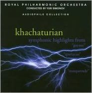 Khachaturian: Symphonic Highlights from Gayane, Spartacus, Masquerade