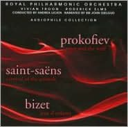 Prokofiev: Peter and the Wolf; Saint-Sans: Carnival of the Animals; Bizet: Jeux D'Enfants