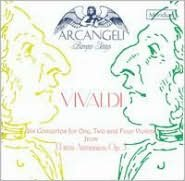 Vivaldi: Six Concertos for One, Two and Four Violins from L'Estro Armonico, Op. 3
