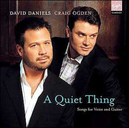 A Quiet Thing: Songs for Voice and Guitar