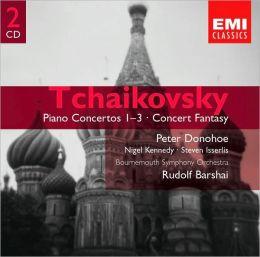 Tchaikovsky: Piano Concertos 1-3; Concert Fantasy