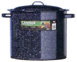 Columbian Home Products 33 Quart Black Granite Canner With Lid 0709-2 - Pack of 2