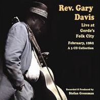 Live at Gerdes Folk City 1962