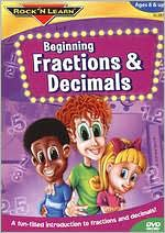 Rock 'N Learn: Beginning Fractions & Decimals