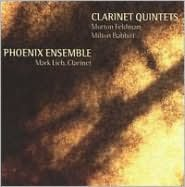 Morton Feldman, Milton Babbitt: Clarinet Quintets