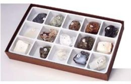 Hubbard Scientific 2301 Crystal and Aggregate Collection 15 pcs.