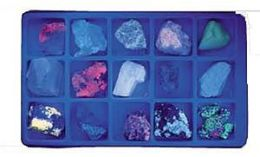 Hubbard Scientific 2380 Fluorescent Minerals Short Wave Collection