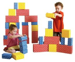 Edushape 36-Piece CORRUGATED Building BLOCKS
