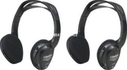 Clarion WH204 2 Ch. Ir Wireless Headphone System