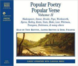 Popular Poetry Popular Verse Ii