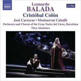 Leonarda Balada: Cristóbal Colón