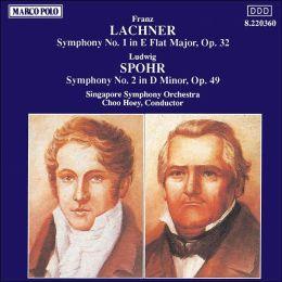 Lachner: Symphony No.1; Spohr: Symphony No.2