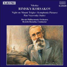 Rimsky-Korsakov: Night on Mount Triglav/Pan Voyevoda