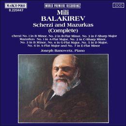 Balakirev: Scherzi and Mazurkas
