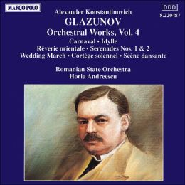Glazonov: Orchestra Works, Vol. 4