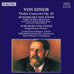 Gottfried von Einem: Violin Concerto