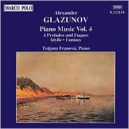 Glazunov: Piano Music, Vol. 4