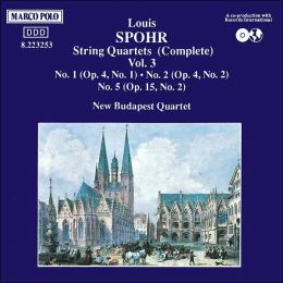 Spohr: Complete String Quartets, Vol. 3