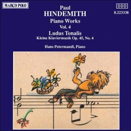 Hindemith: Ludus Tonalis; Kleine Klaviermusik Op.45