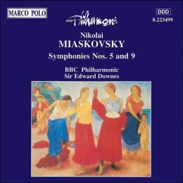 Miaskovsky: Symphony Nos. 5 & 9